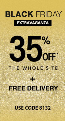 Black Friday 35%off the whole site* + free delivery use code 8132